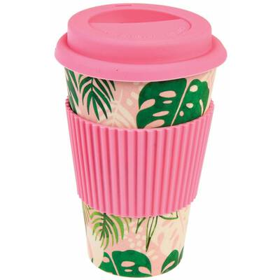Rex London Kaffeebecher to go Bambus Tropical Palm