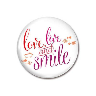 Amazing Magnet Love,Live & Smile 59mm