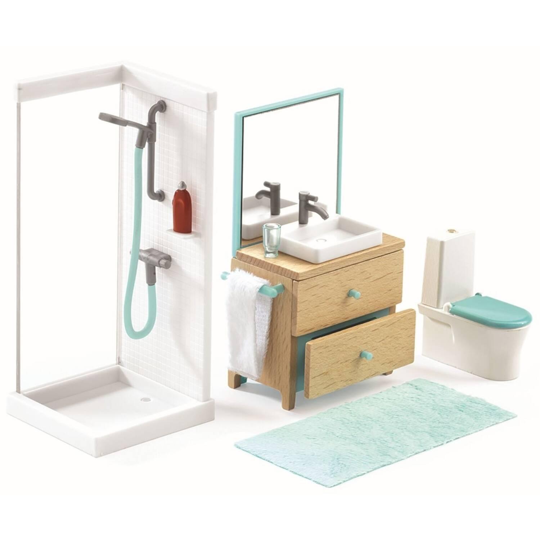 djeco puppenhaus m bel badezimmer bea bitzer. Black Bedroom Furniture Sets. Home Design Ideas